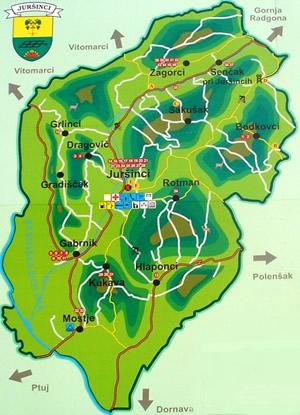 Zemljevid občine