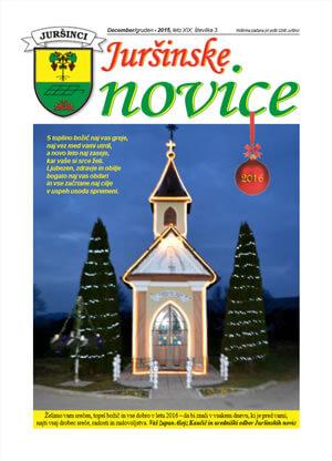 Juršinske novice leto 2015, številka 3